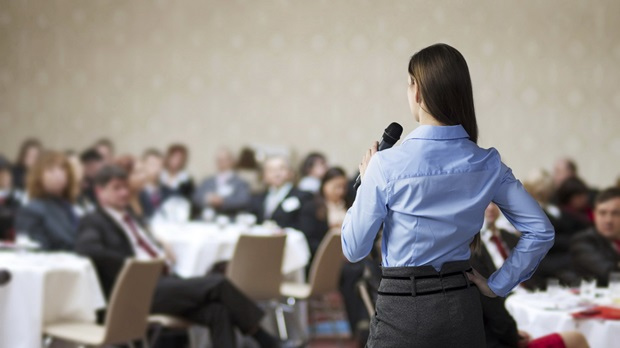 Get better at public speaking