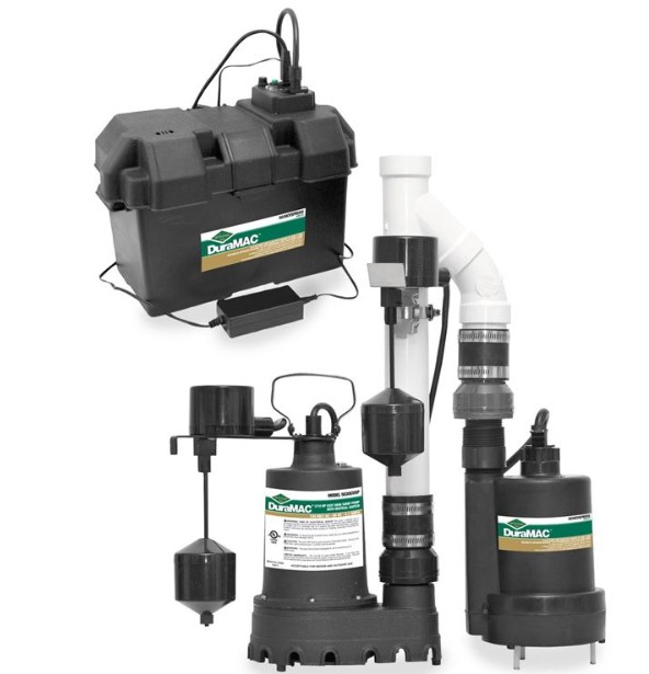 the sump pump battery backup