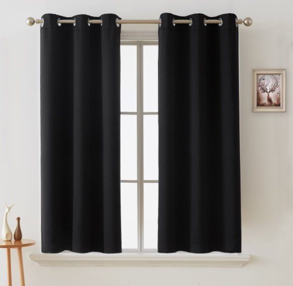 Thermal Insulated Curtains view side