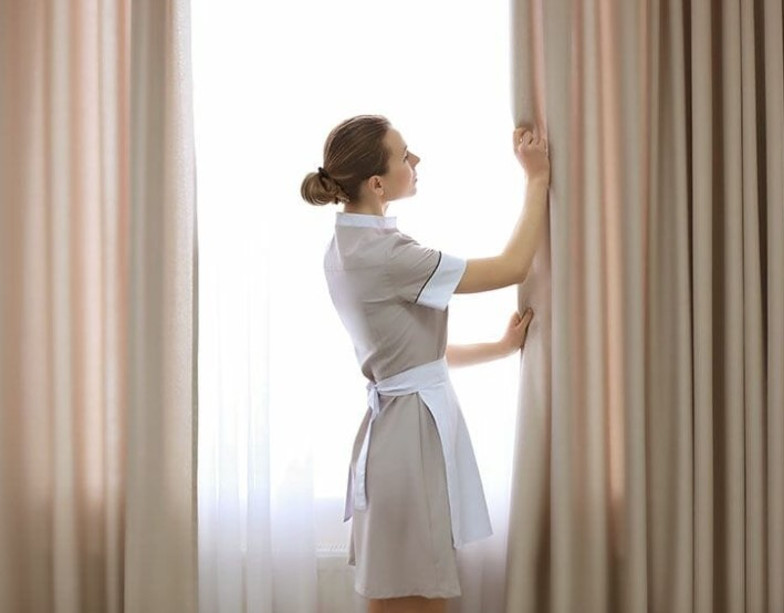general cleaning curtains