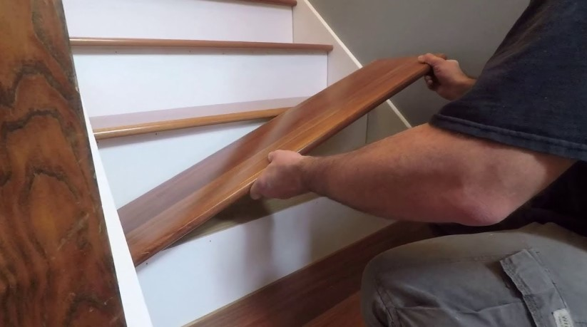 How To Install Stair Treads A Path Ears