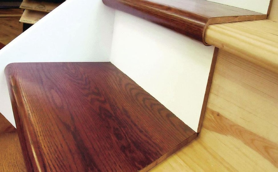 steps to follow when installing stair treads
