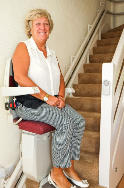 Stairlift for Elderly A Simple Way to Get Up and Down the Stairs Effortlessly
